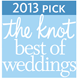 The Knot Best of Wedding Award winner