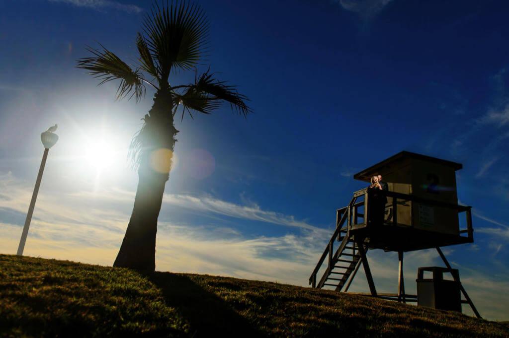 Orange County Beach Engagement