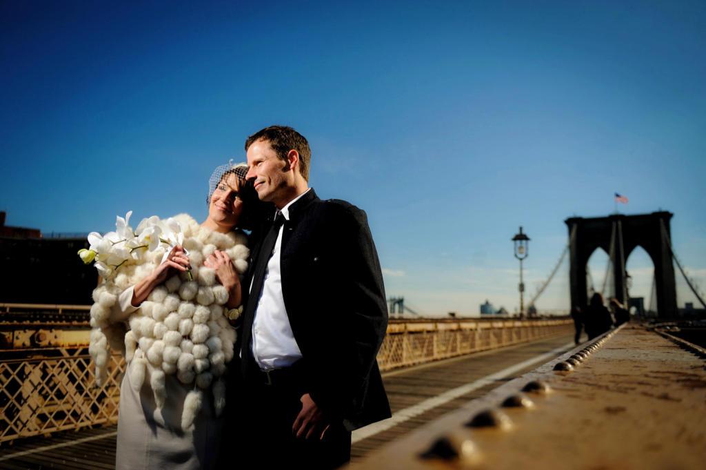Brooklyn Bridge NYC Wedding