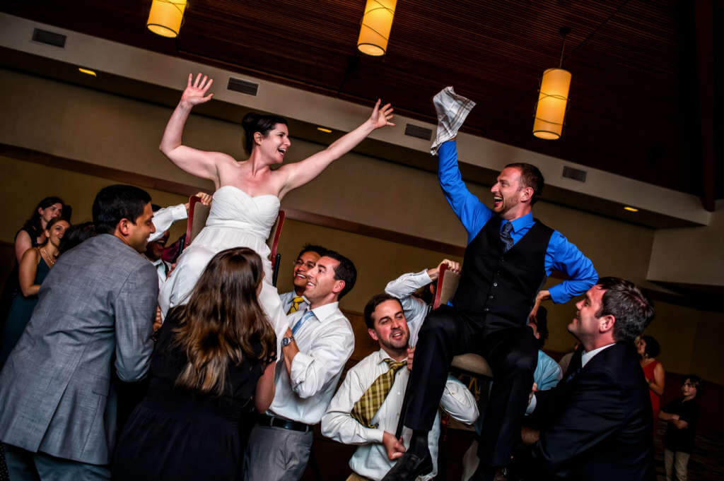 Hava Nagila Wedding Photo by Shaun Baker Photography
