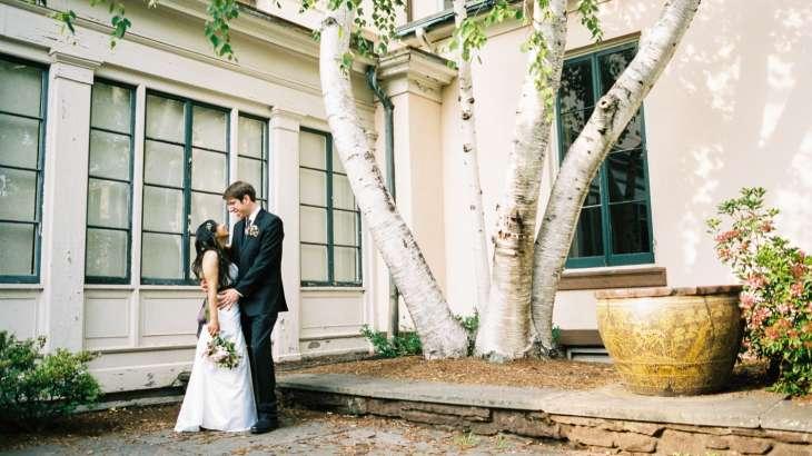 Nikon F100 Film Wedding