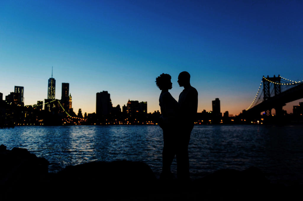 Skyline a NYC Engagement