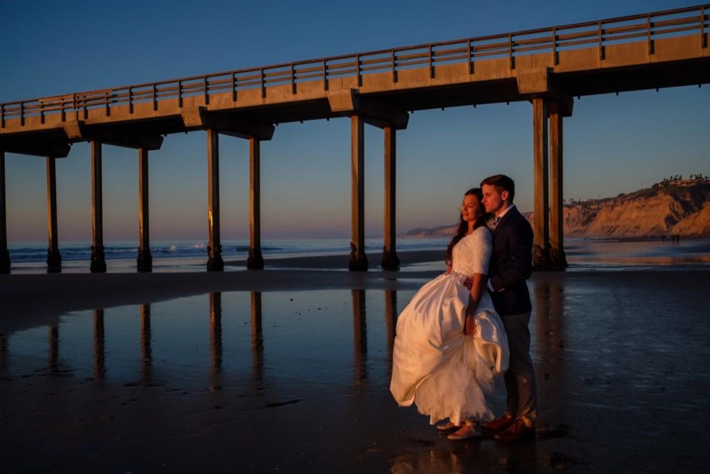 Scripps Pier Wedding Photography0003